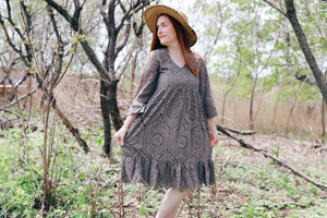 gillian dress in olive