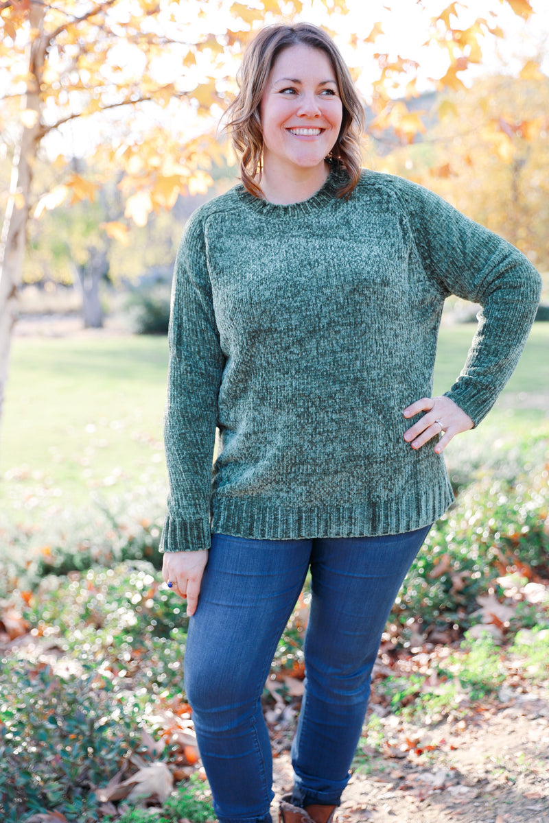 daphne blouse in sage