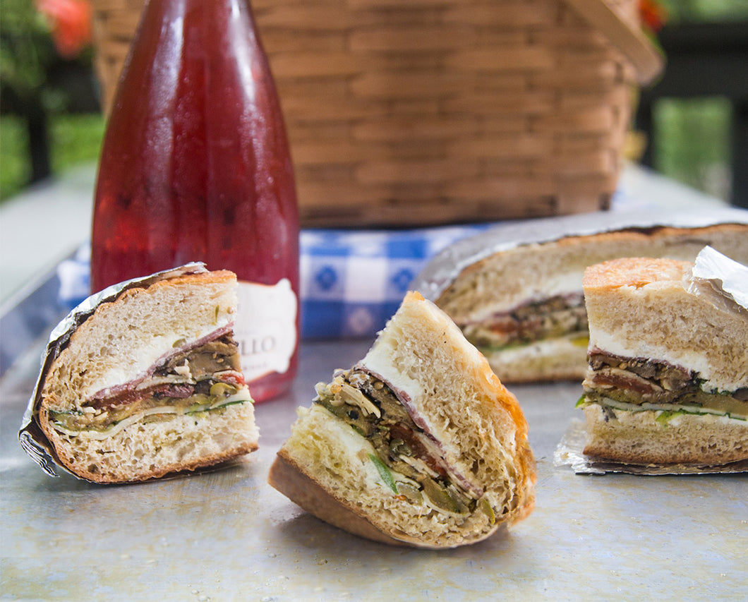Lodi Wine and Sandwich  Picnic Package
