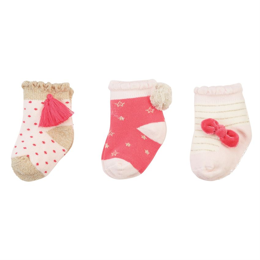 Sparkle Printed Sock Set