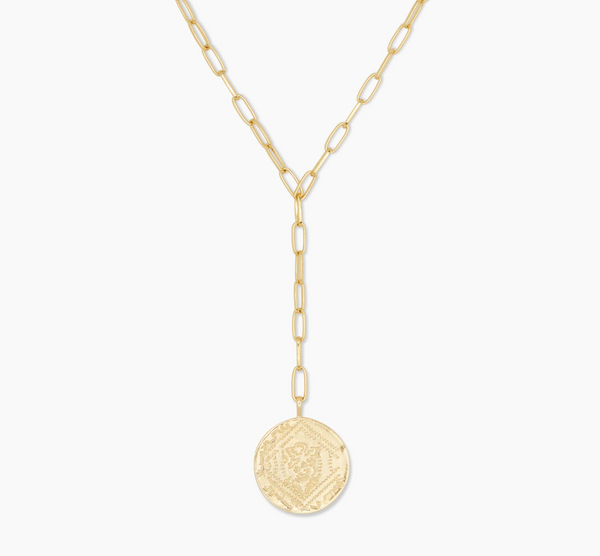Ana Coin Lariat
