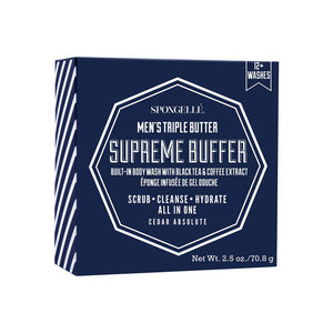 Supreme Buffer with Build-in Body Wash with Black Tea & Coffee Extract