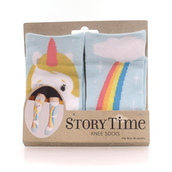 Story Time Knee Socks in 2 Styles