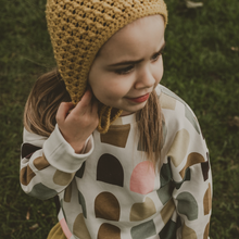 Load image into Gallery viewer, Drop Shoulder Top | Gemma - Peridot Kids