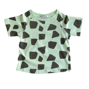 Green Little Gems Slim Tee - Peridot Kids