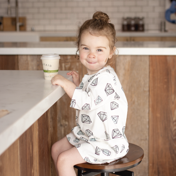 Tunic Dress | Shapes - Peridot Kids