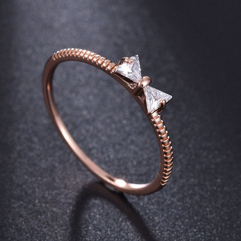 Golden Bow Ring