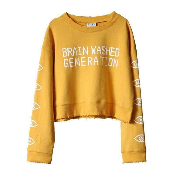 Brain Washed Generation Sweater