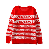 """ Loved "" Sweater"