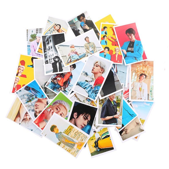 30PCS/box EXO Photo Card