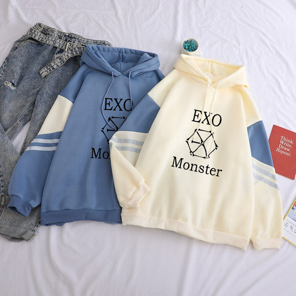 EXO Monster Pullover Hoodie