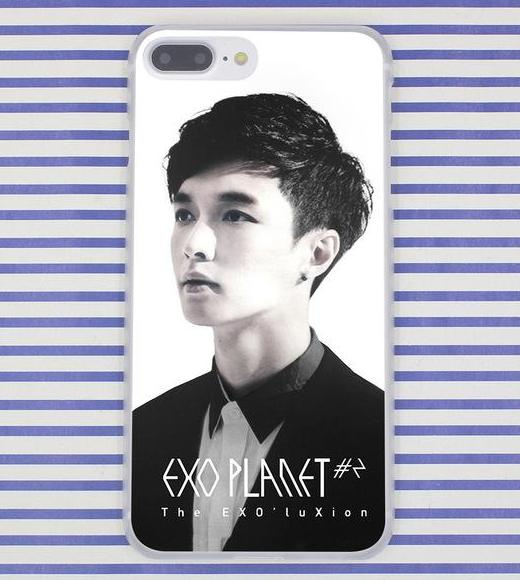 Exo Planet Members Phone Case For iPhone