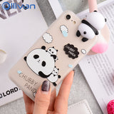 """ Chubby Panda "" iPhone Case"