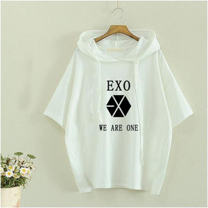 "EXO ""WE ARE ONE"" Hoodie Short Sleeve"