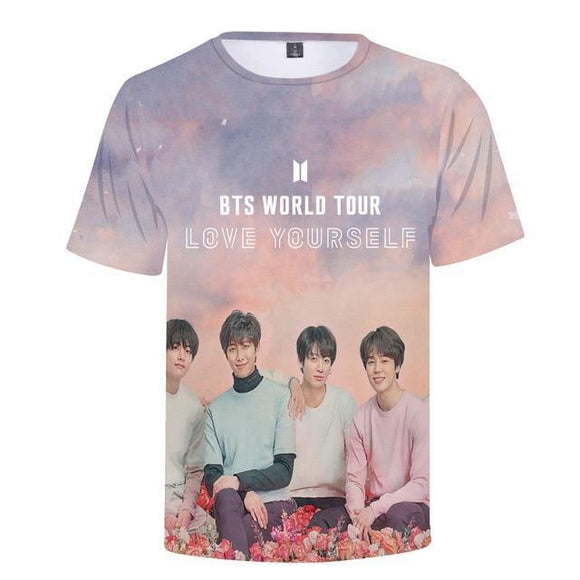 BTS 3D Love Yourself T-shirt