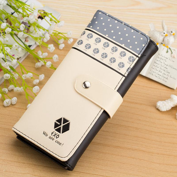 EXO Leather Wallet