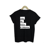 You, Me, Pizza, K-Drama T-Shirt