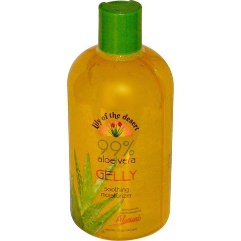 Lily of the dessert Lily of the Desert, 99% Aloe Vera Gelly ,12 Ounce