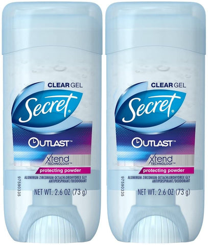 Déodorant Secret Clear GEL outlast protecting powder