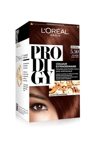 Coloration cheveux L'Oreal Prodigy 5.5.