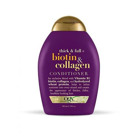 OGX Conditioner,Thick & full Biotin & Collagen 385 ml , 13 os by OGX