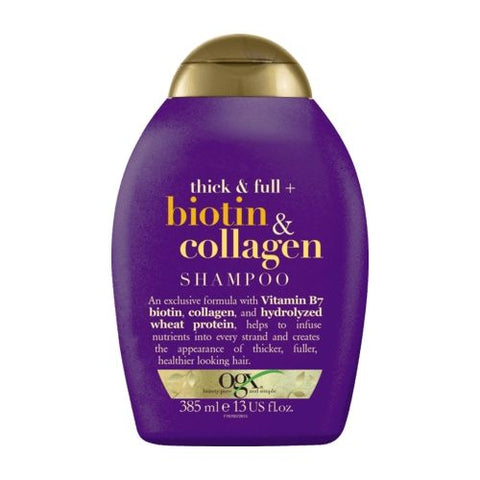 OGX Shampoo, Thick & Full Biotin & Collagen, 13oz by OGX