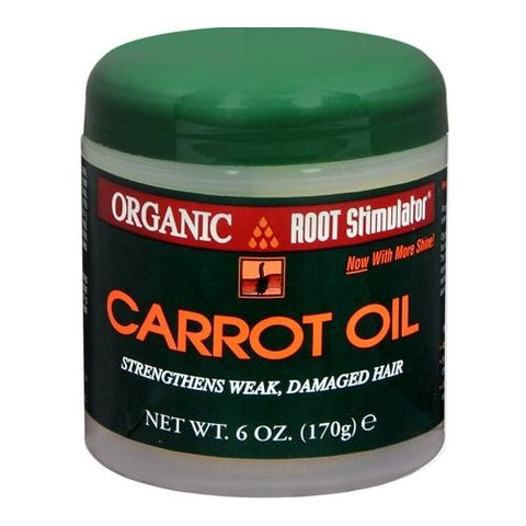 Organic Root Stimulator Carrot Oil (6oz) For Damaged Hair