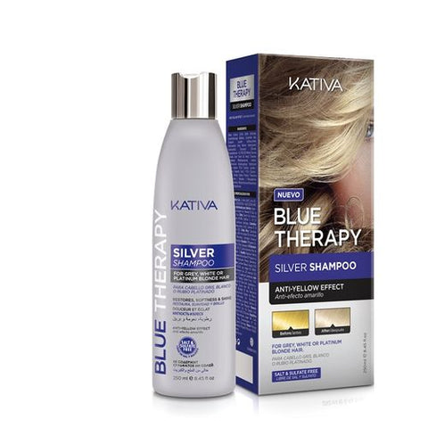 Kativa Professional KATIVA BLUE THERAPY Shampooing 250 ml / 8.45 fl.oz