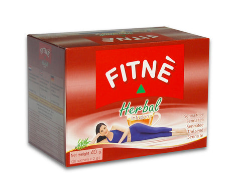 Thé FITNÉ herbal Infusion 40 g. (20 sachets)