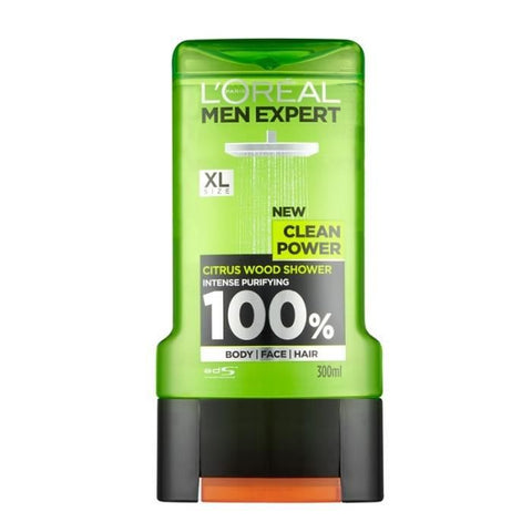 L'oreal men expert clean power 300ml