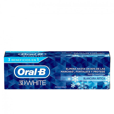 Oral-b 3d white 75ml 3beneficios en 1