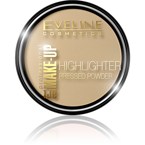 HIGHLIGHTER PRESSED POWDER ART PROFESSIONAL MAKE-UP NO 53 PEARL