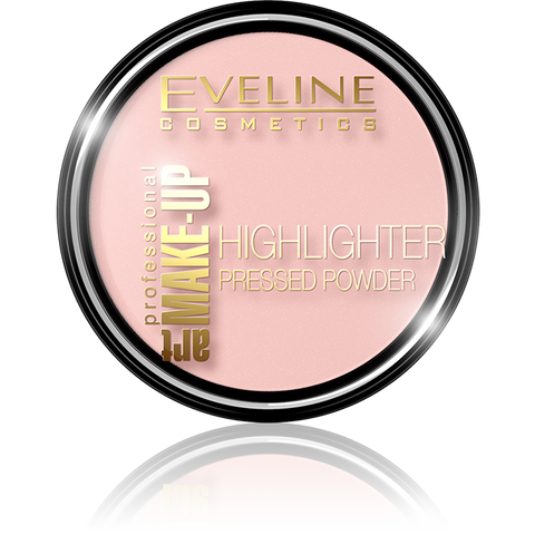 HIGHLIGHTER PRESSED POWDER ART PROFESSIONAL MAKE-UP NO 54