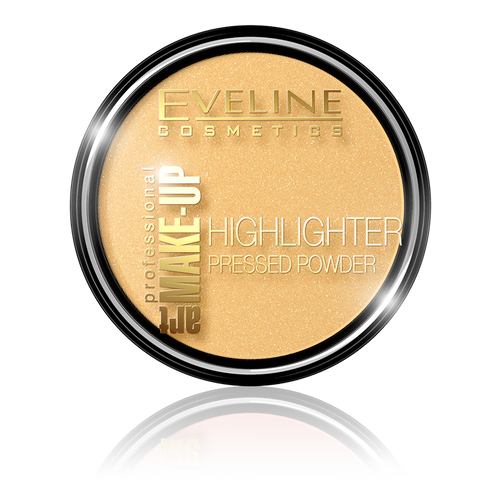 HIGHLIGHTER PRESSED POWDER ART PROFESSIONAL MAKE-UP NO 55