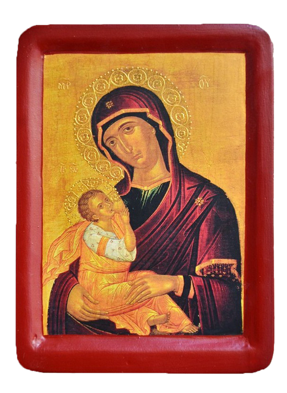 "Icon ""Mother of God - Nursing the Child"" - Christian Icons"