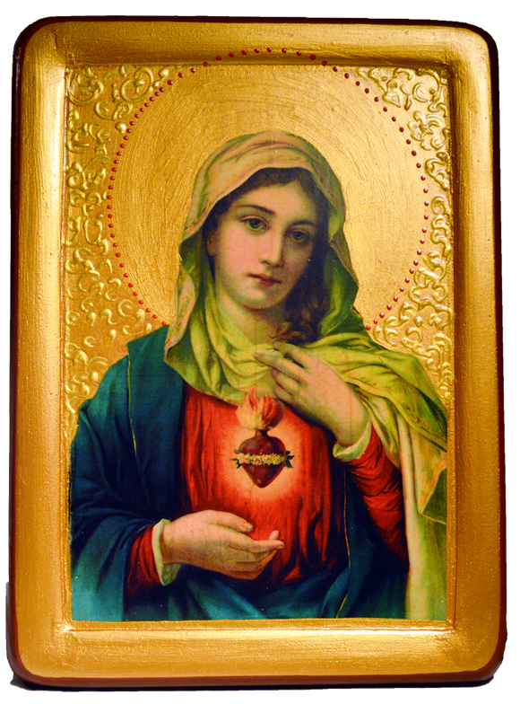 "Icon "" Immaculate Heart of Mary"" - Christian Icons"