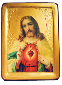 "Icon ""Sacred Heart of Jesus"" - Christian Icons"