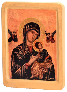 "Icon ""Our Lady of Perpetual Help"" - Christian Icons"