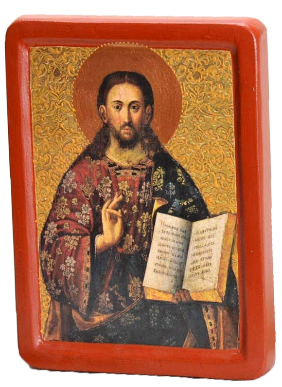"Icon ""Christ Pantocrator"", (XVIII cent.) - Christian Icons"