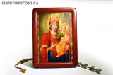"Icon ""Virgin Hodegetria with praise ""(XVIII cent.) - Christian Icons"