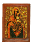 "Icon ""Our lady of Tenderness"" Kyiv (XVIII cent.) - Christian Icons"