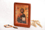 "Icon ""Christ Pantocrator"" (XV cent.) - Christian Icons"