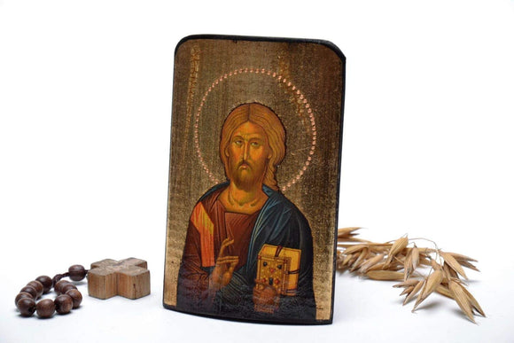 "Traveling Icon ""Christ Pantocrator"" - Christian Icons"