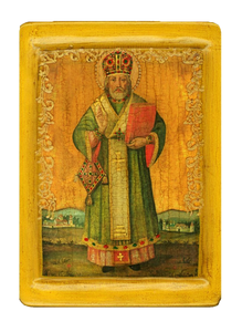 "Icon ""Saint Nicholas The Wonderworker"" - Christian Icons"