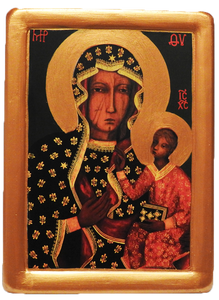"Icon ""Our Lady of Czestochowa"" new - Christian Icons"