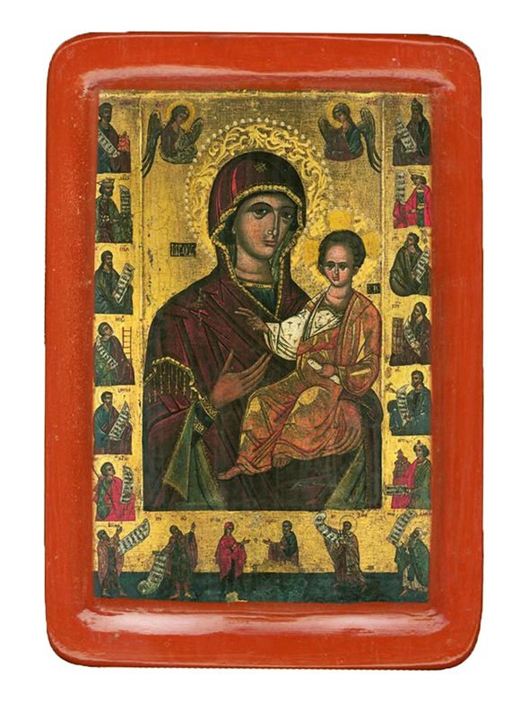 "Icon ""Belzska Virgin Hodegetria ""(XV cent.) - Christian Icons"