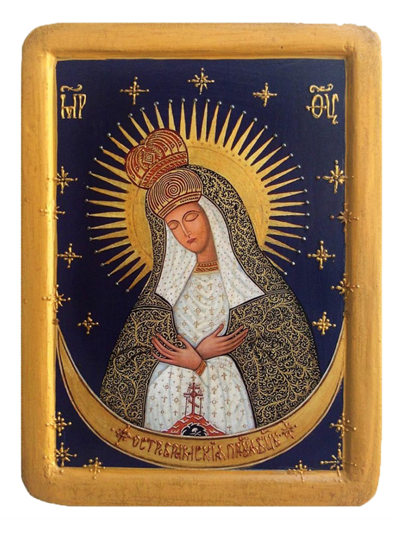 "Icon "" Our Lady of the Gate of Dawn "" - Christian Icons"