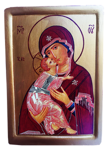 "Icon ""The Theotokos of Vladimir"" (Our Lady of Vladimir) - Christian Icons"
