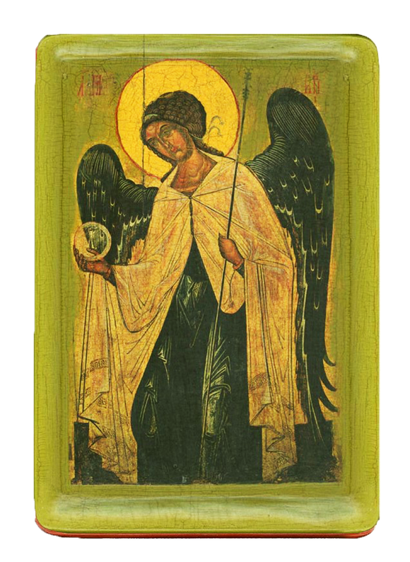 "Icon "" Archangel Gabriel"" XIV cent. - Christian Icons"