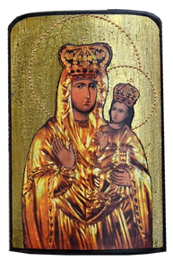 "Traveling Icon ""Zarvanytsa Mother of God "" - Christian Icons"